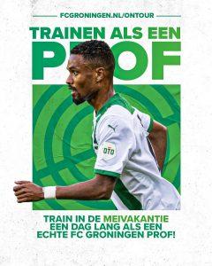 FC Groningen on Tour voetbaldagen komt naar vv Noordscheschut!