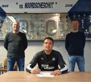 Michel van Essen nieuwe trainer vv Noordscheschut Jo19-1